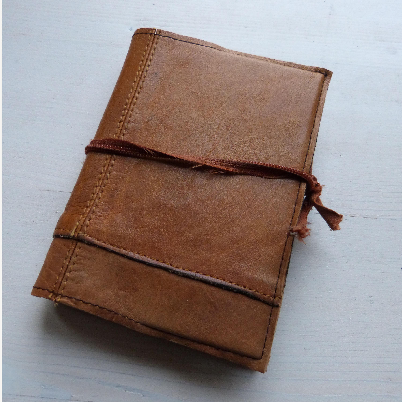 0acff7a84b1 Notitieboek gerecycled leer 2 | Studio MIG