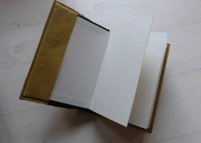 binnenzijde notitieboek
