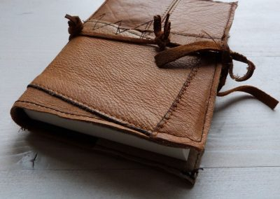 notitieboek gerecycled leer 4