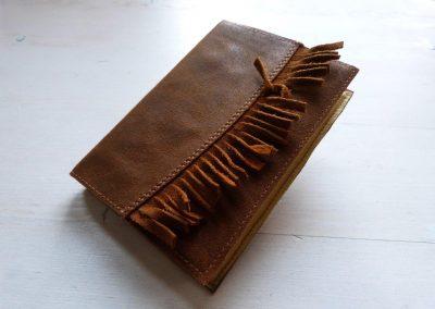notitieboek met franjes