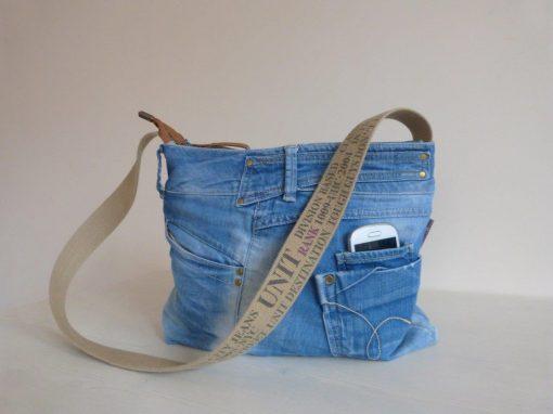 De Ellizz-bag: Zomerse jeanstas
